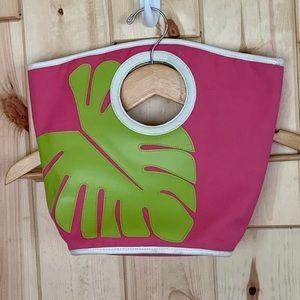 Victoria's Secret Pink Palm Beach Bag Tote